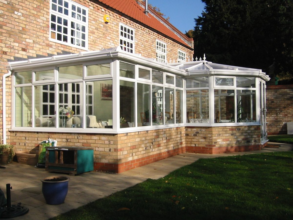 P-Shaped Conservatory in Worthing